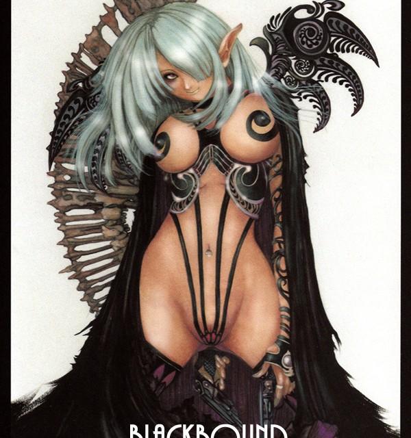 ダークファンタジー 天使 悪魔 髑髏 綺麗なお姉さん